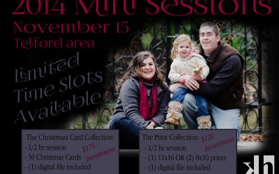 The 2014 Mini-Sessions are HERE!!
